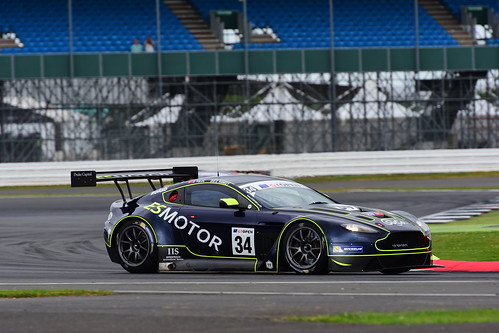 Salih Yoluc - Euan Hankey, Aston Martin Vantage GT3, International GT Open, Silverstone 2016