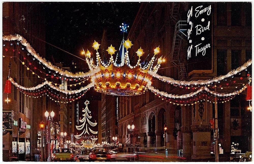 Kansas City MO Christmas 1960s | Photo of Postcard, Kansas C… | Flickr
