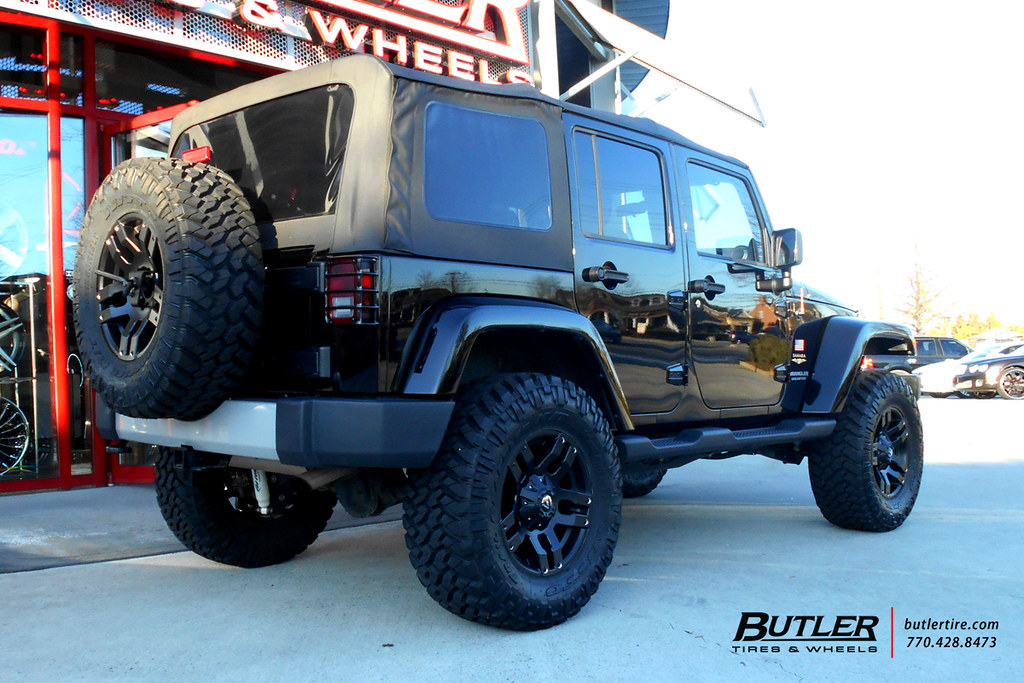 ... Jeep Wrangler With 18in Fuel Pump Wheels | By Butler Tires And Wheels