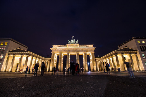 Wide angle shot of the Brandenburg Gate | by Groman123