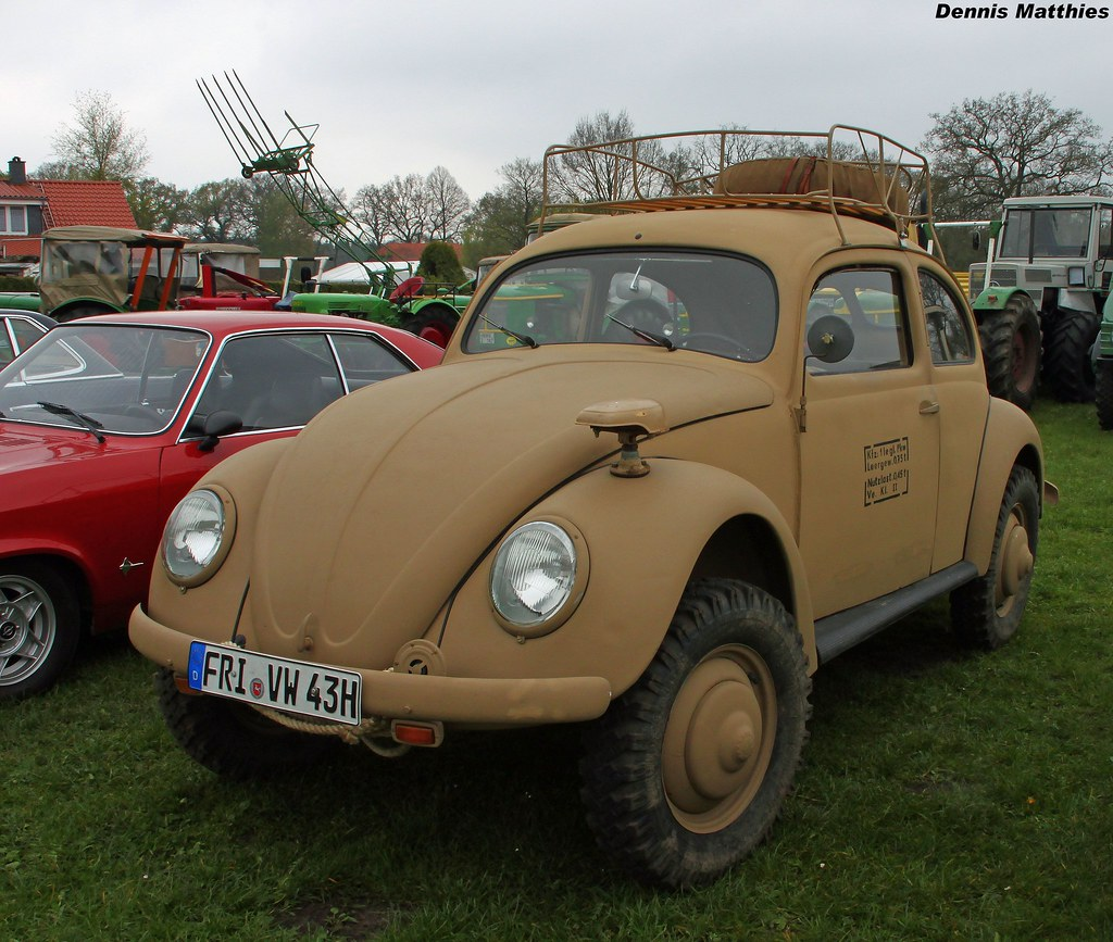 wehrmacht beetle a vw typ 82e at the oldtimertreffen. Black Bedroom Furniture Sets. Home Design Ideas
