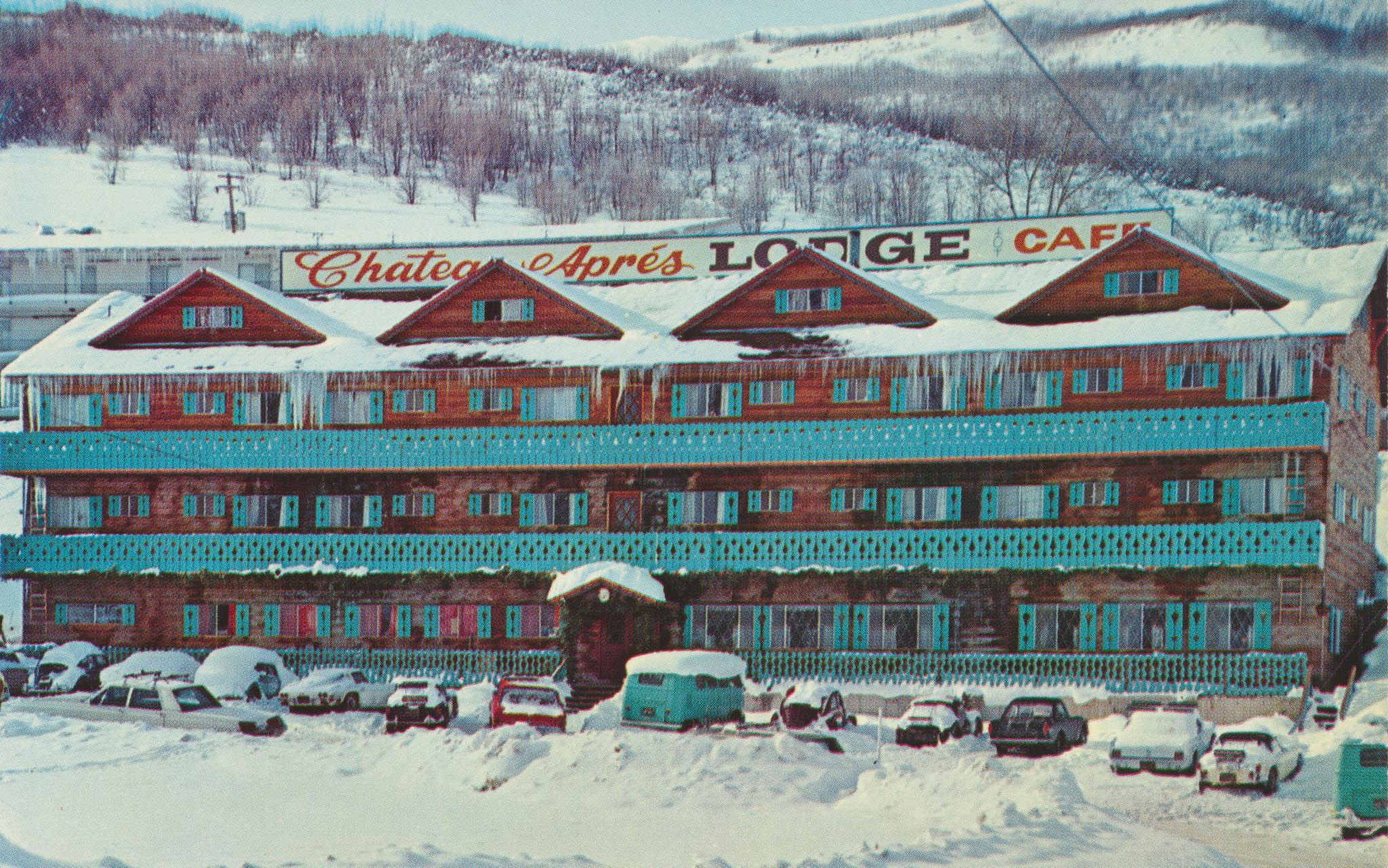 Chateau Aprés Lodge - 1299 Norfolk Avenue, Park City, Utah U.S.A. - 1960s