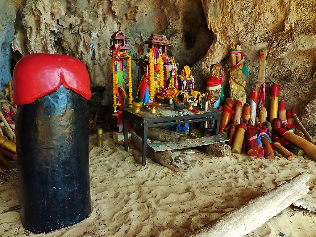 shrine in Princess Cave