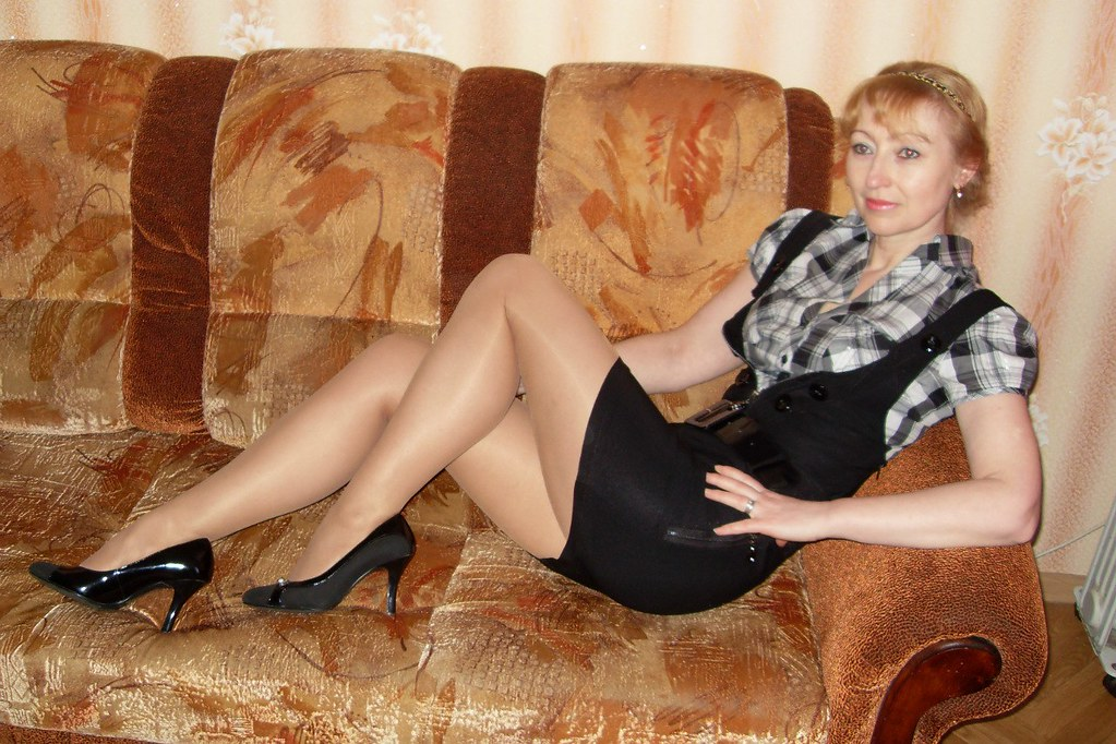 Mature Pantyhose Hot 61