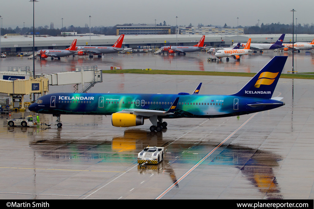 Icelandair Airlines 757 256 Wl Tf Fiu Manchester Air