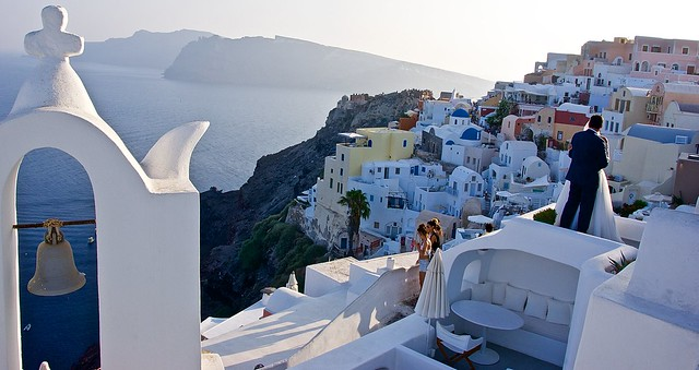 The perfect place for photoshoots in Santorini