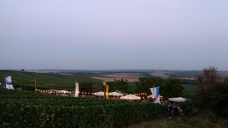 Gottesgarten, Selzen und Rheinhessen in der Dämmerung
