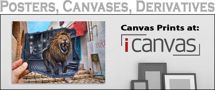 icanvas prints - ben heine art