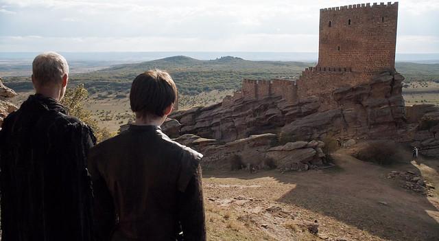 Escena de Juego de Tronos en el castillo de Zafra