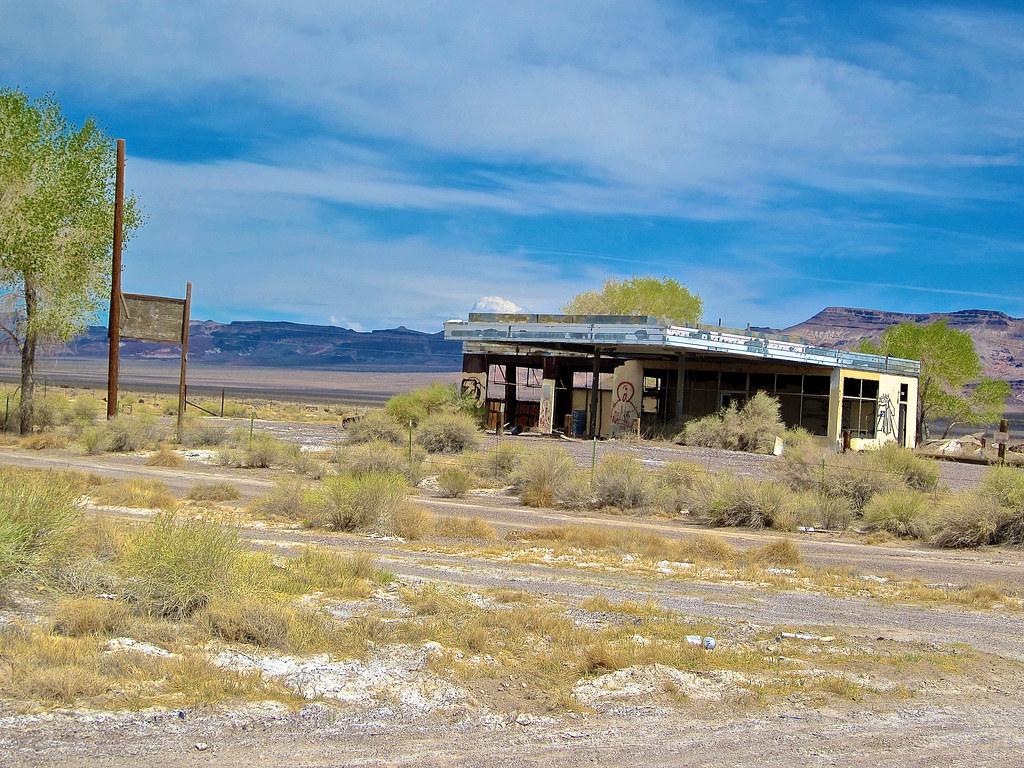 Gas Station Finder >> Abandoned Gas Station, Beatty, NV | An abandoned gasoline st… | Flickr