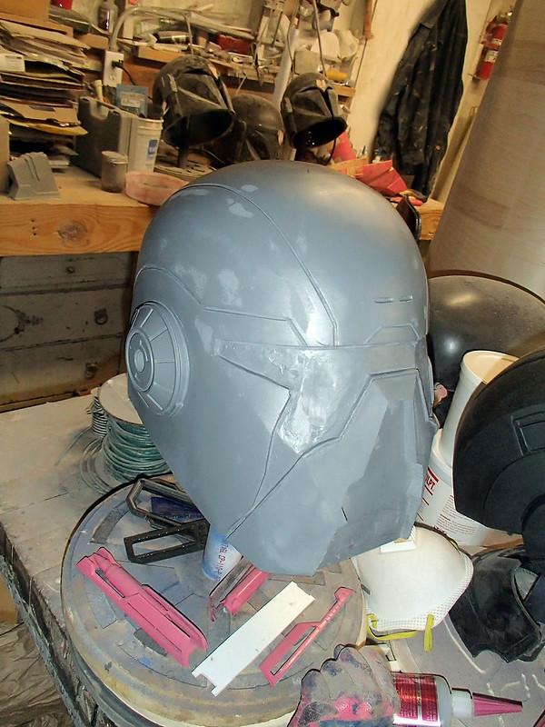 Shae Helmet Protoype Primed
