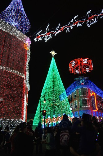 Osborne Lights - christmas tree