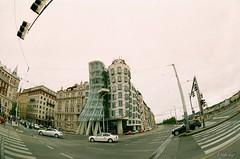 Tančící dům. Prague. Czech Republic