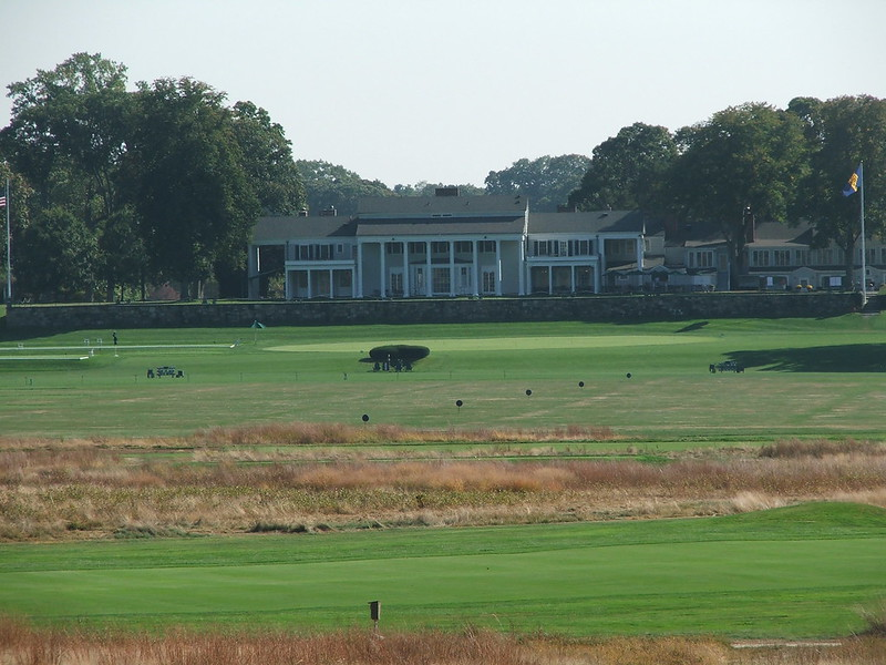 clubhouse from 6th tee