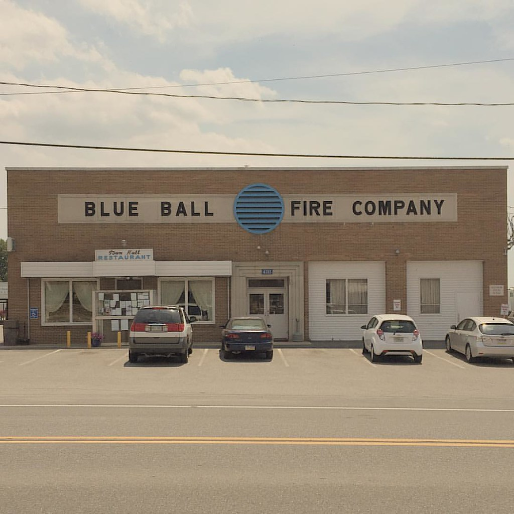 Great ... The Town Hall Restaurant Is A Terrific Retro Relic Tucked Into The Blue  Ball Fire Company