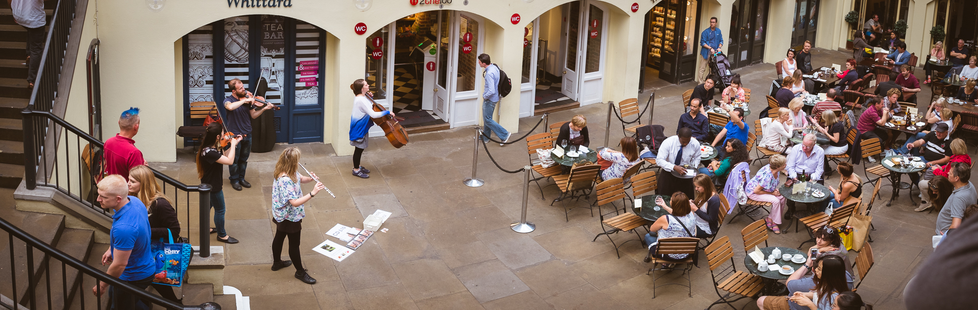 Músicos en Covent Garden
