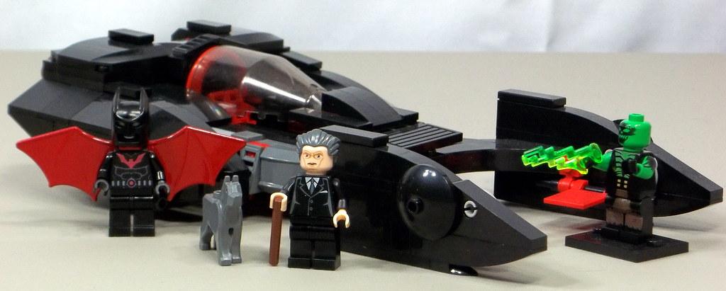 custom lego batman beyond batmobile angel hartless flickr. Black Bedroom Furniture Sets. Home Design Ideas