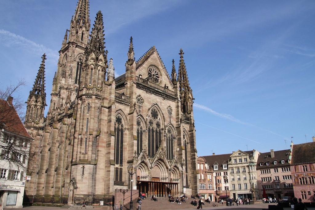 mulhouse am die evangelische stephanskirche im flickr. Black Bedroom Furniture Sets. Home Design Ideas