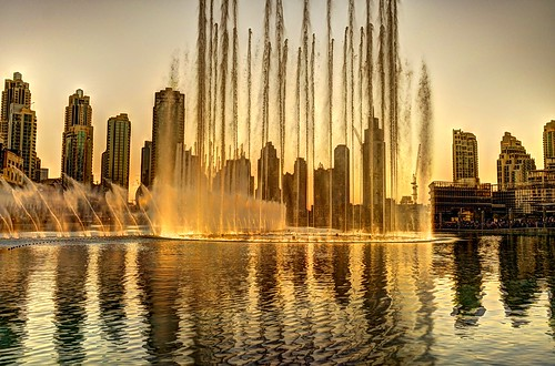 Burj Al Khalifa Dubai  Dancing fountain | by sal2sweet007