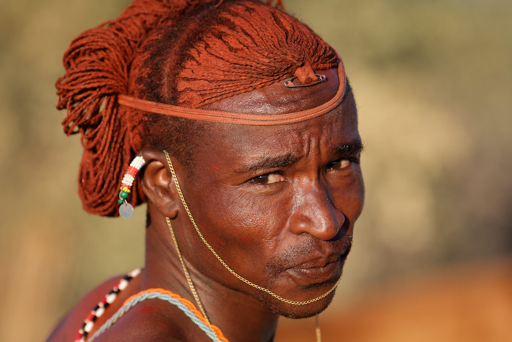 Kenya Samburu Warrior Moran Samburu Warrior With