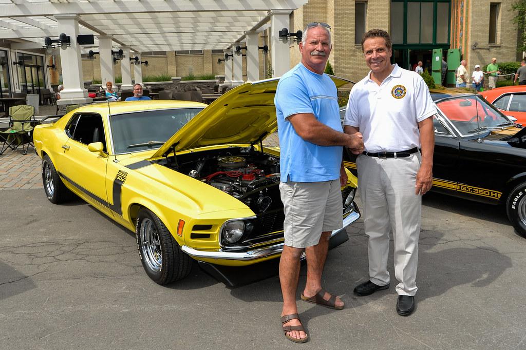 Syracuse Nationals Car Show: Governor Cuomo Attends Syracuse Nationals Car Show