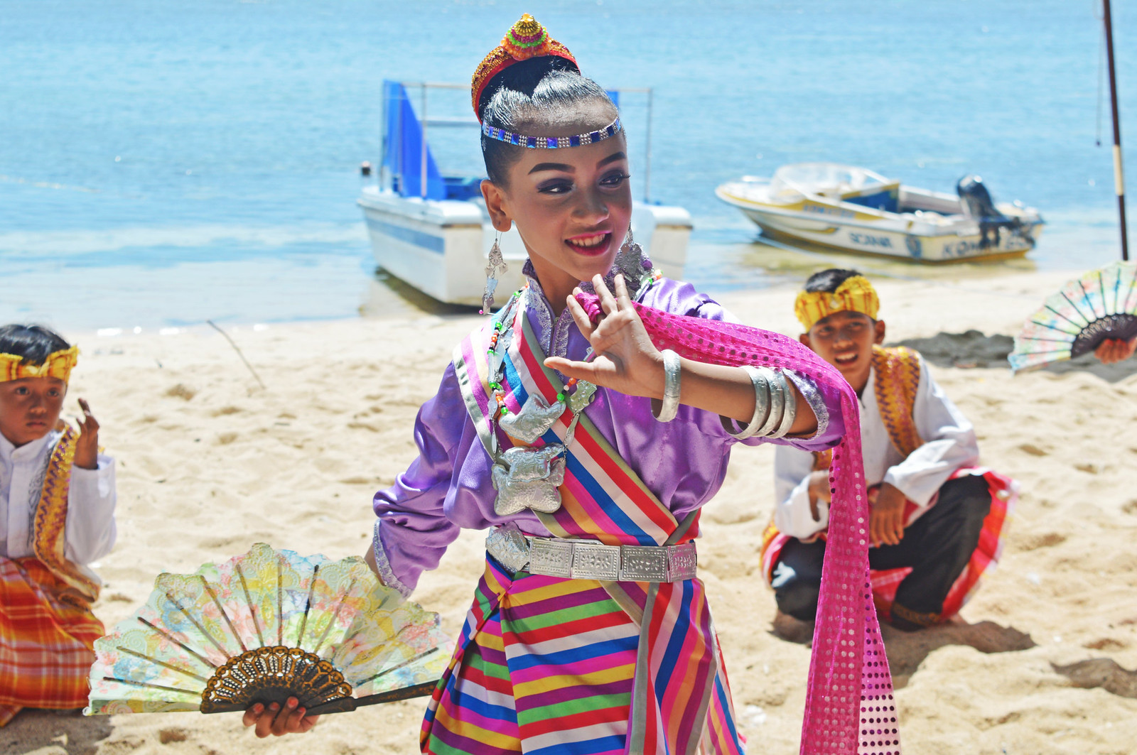 Traditional Dancer in Wakatobi.