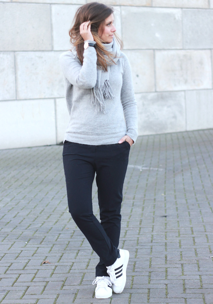 Outfit Adidas Superstar Inspiration Street Style Shout