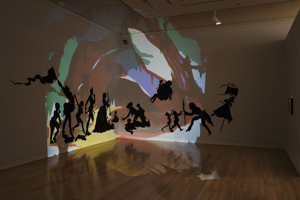 Kara Walker. Darkytown Rebellion. 2001 | For more info on th… | Flickr
