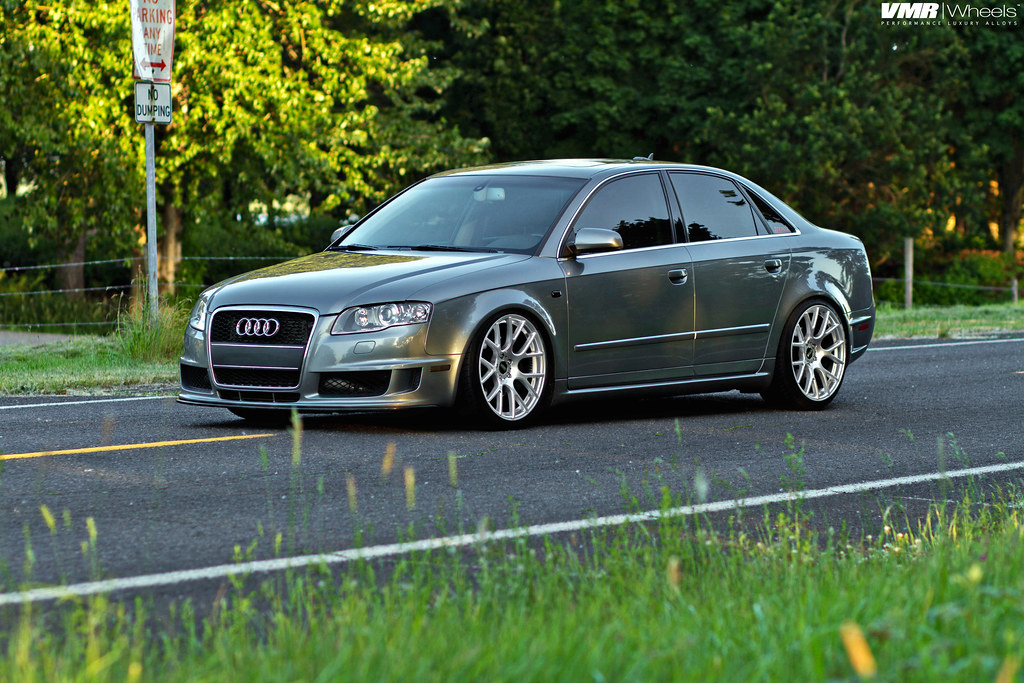 Vmr Wheels X Audi A4 V810 Flow Formed Concave Mesh