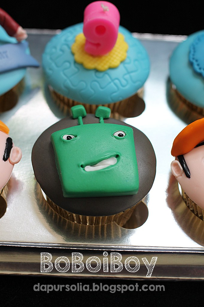 ... BoBoiBoy Cupcake Set | by Dapur Solia
