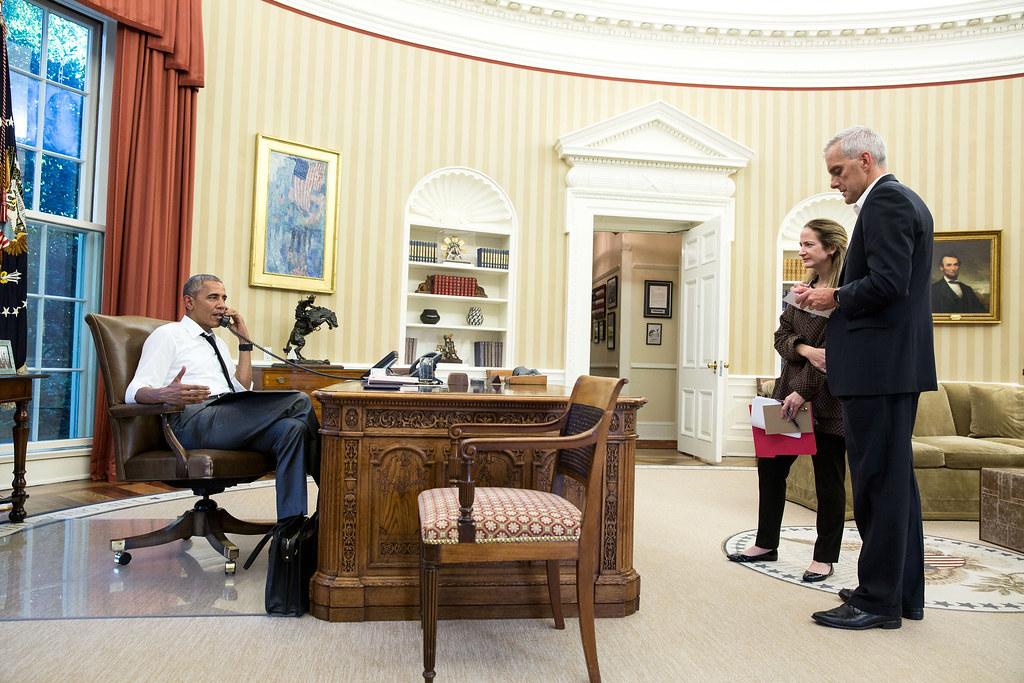 P071516ps 0802 President Barack Obama Talks On The Phone