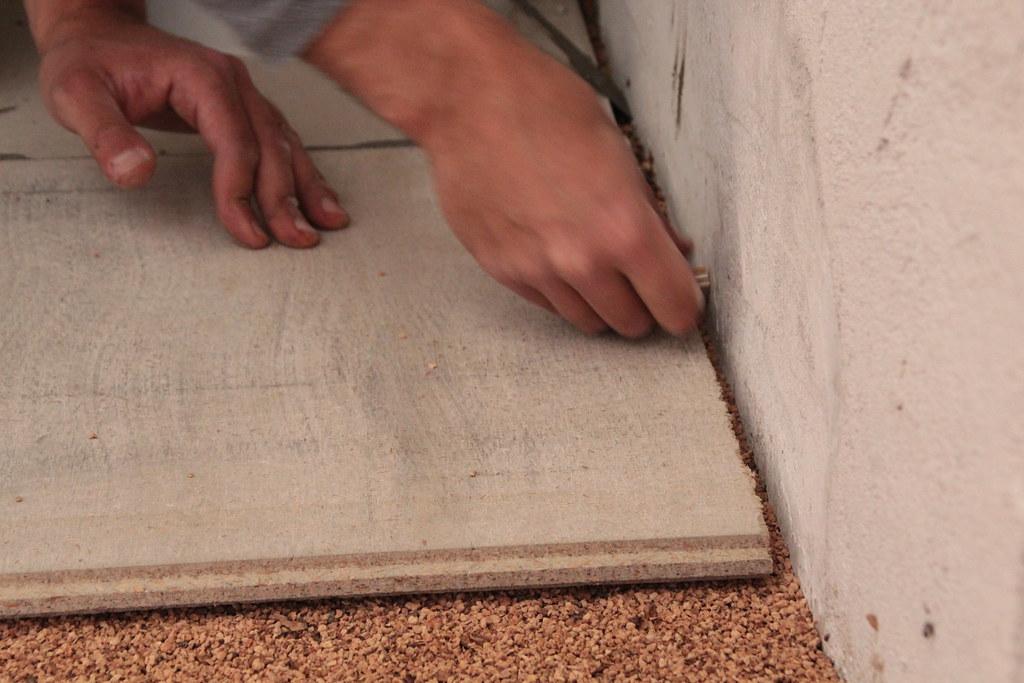 Massetto a secco fibra di legno