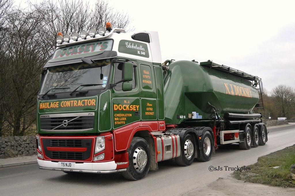 Volvo Fh N J Docksey Leekbrook Staffordshire