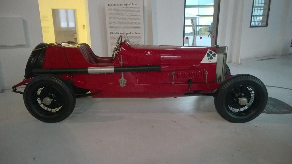 Alfa Romeo Rl Targa Florio 1924 Museo Casa Enzo Ferrari Flickr