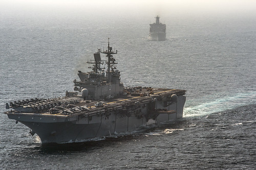 Navy's first hybrid ship celebrates commissioning anniversary