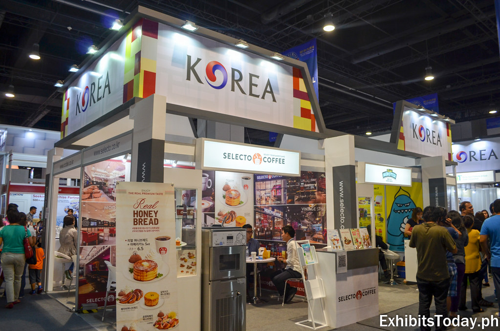 Korea Tourism Organization Trade Show Display