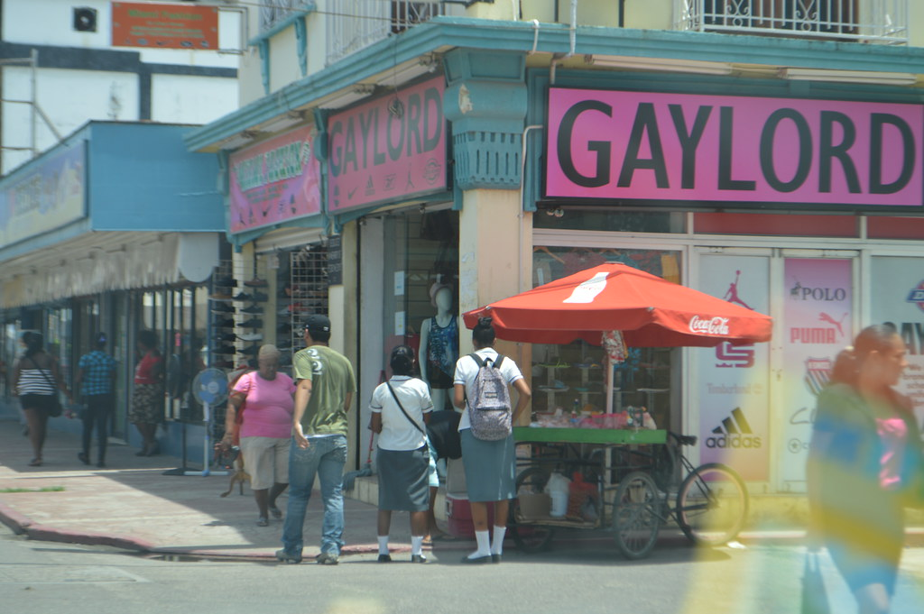 Gaylord Clothing Store On 33 Albert Street In Belize City