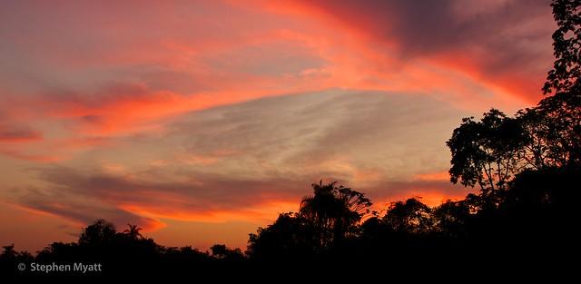 Pantanal Sunset, South Pantanal, Brazil.