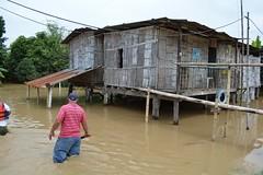 Inundaciones en sectores campesinos