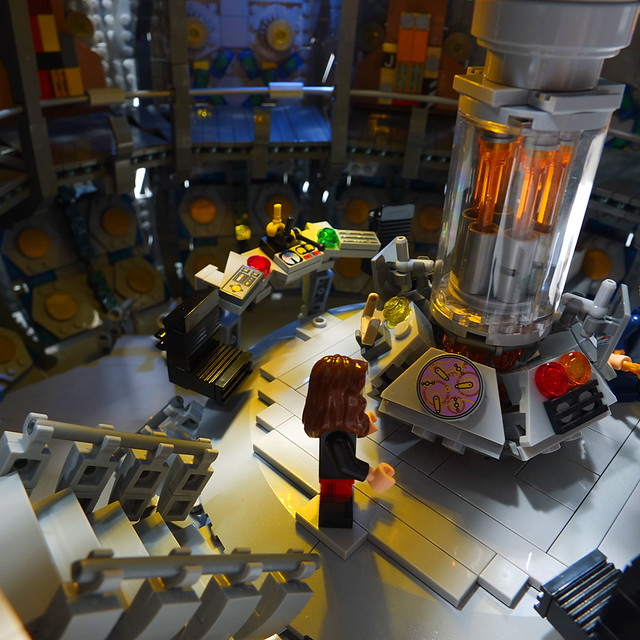 Moc Lego Doctor Who The Twelfth Doctors Tardis Interior Ser