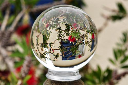 Die Welt steht kopf - Fotografieren mit der Glaskugel - Fotospielereien - Brigitte Stolle, Bretagne 2016