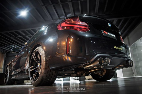 bmw f87 m2 with fi exhaust fi carbon fiber tips bmw. Black Bedroom Furniture Sets. Home Design Ideas