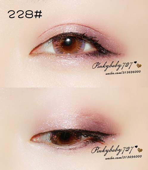 Melody played with color, try CHANEL brand new four-colour eye shadow color