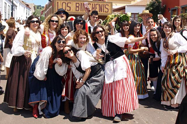 Fiesta goers, Tenerife