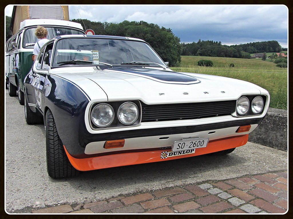 ford capri rs 2600 mki oldtimers bleienbach 2016. Black Bedroom Furniture Sets. Home Design Ideas