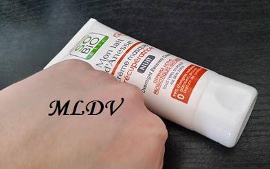 crème masque récupératrice so'bio etic test