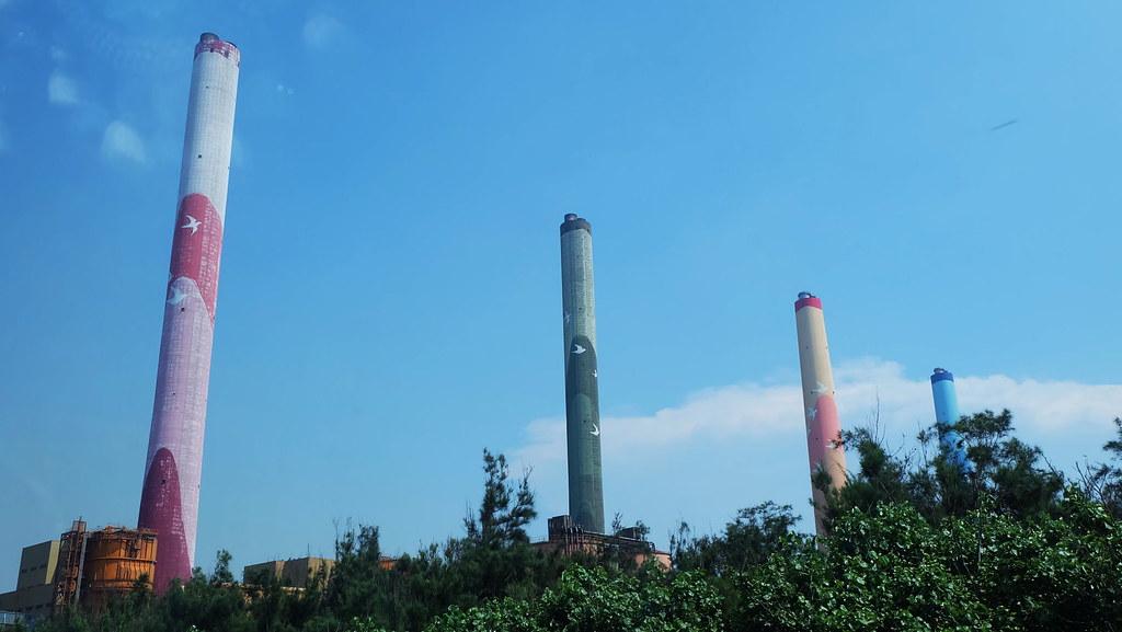 台中火力發電廠是世界最大的火力發電廠 攝影:陳文姿