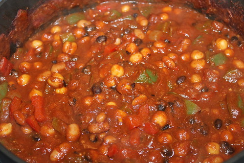 Vegetarian Three-Bean Chili | by cseeman