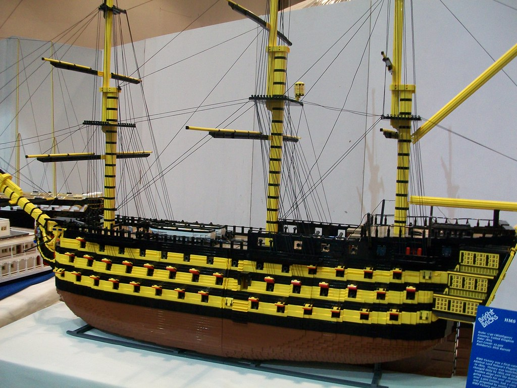 Hms Victory Built For Bright Bricks As Part Of The