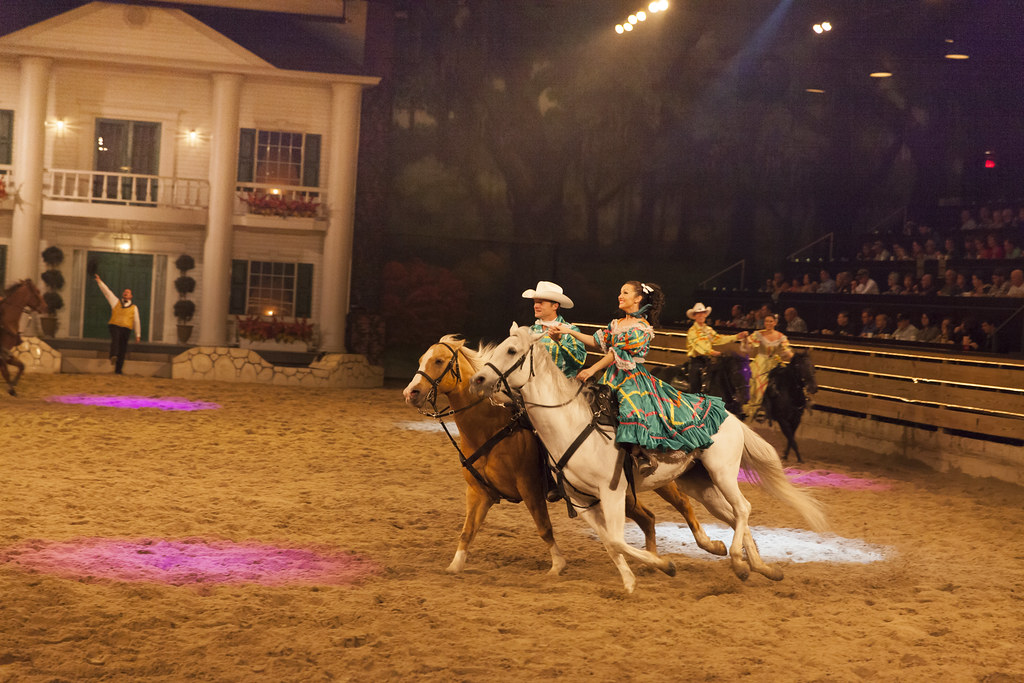 Dolly Partons Dixie Stampede Branson Convention And